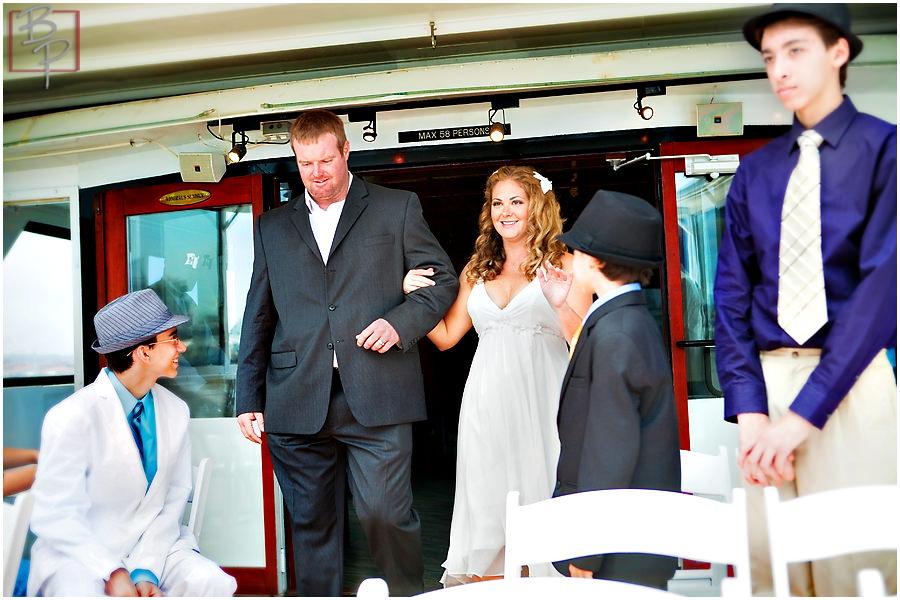san diego boat wedding