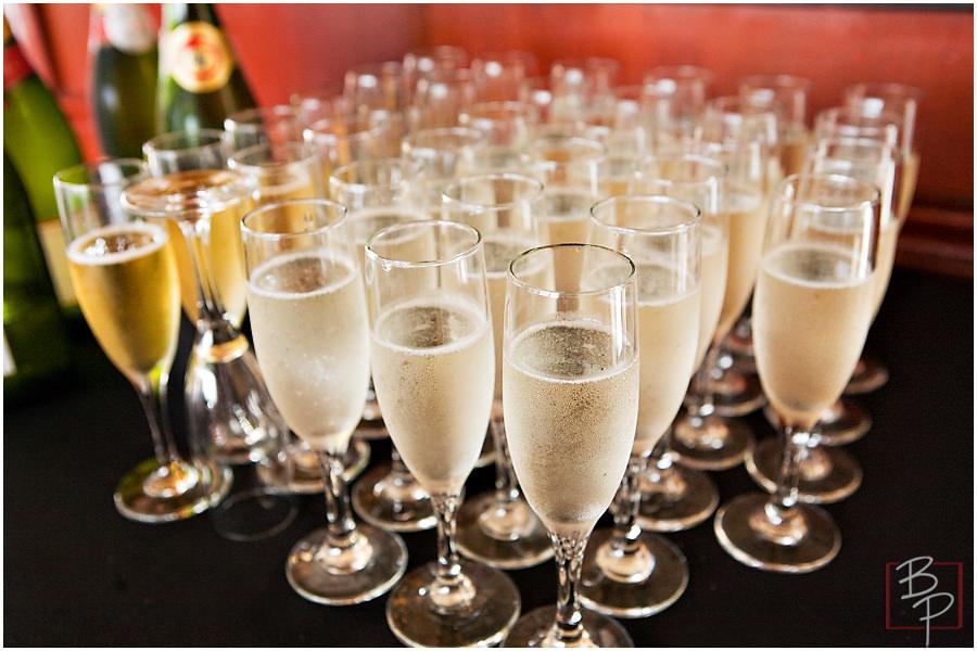 san diego wedding champagne