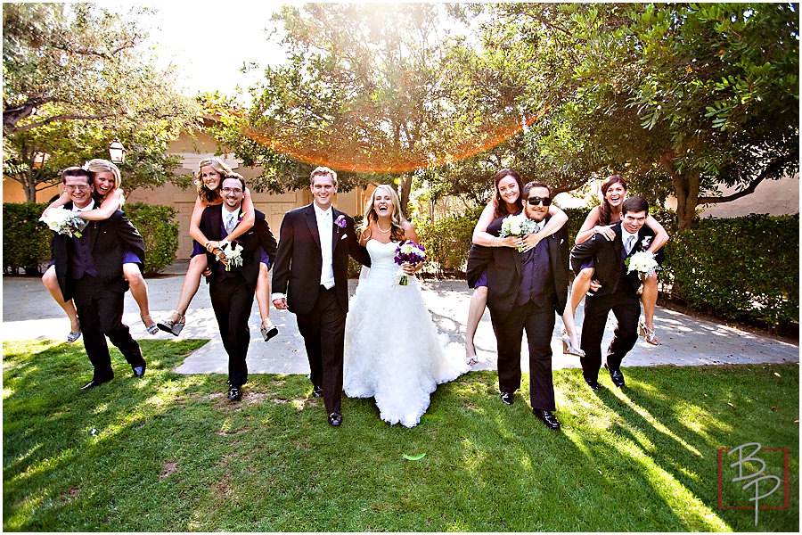 Wedding Party in San Diego Photography