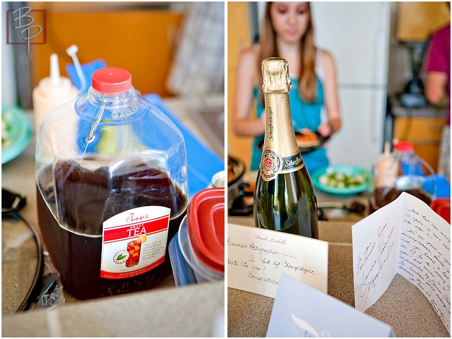 Wine and Juice at Bauman Photographers Studio celebrating 10 years