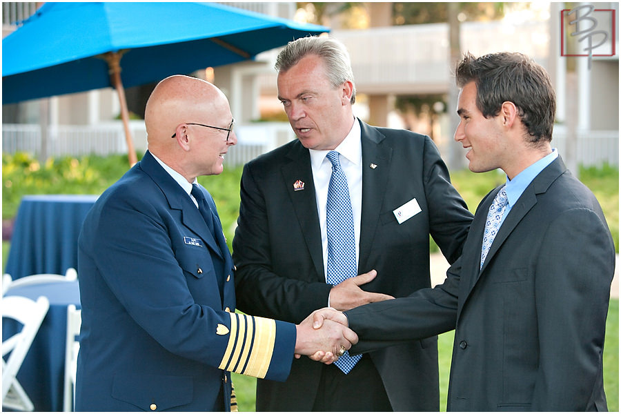 Photographs of Coast Guard Foundation event