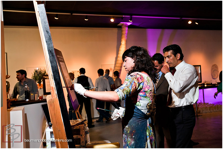 Corporate event images in Gaslamp San Diego