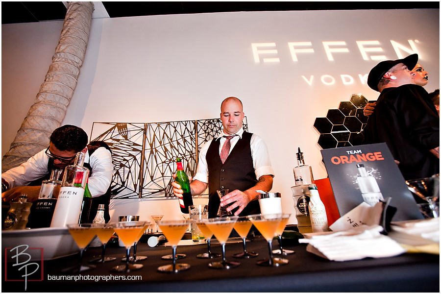 Images taken by Bauman Photographers of corporate events downtown