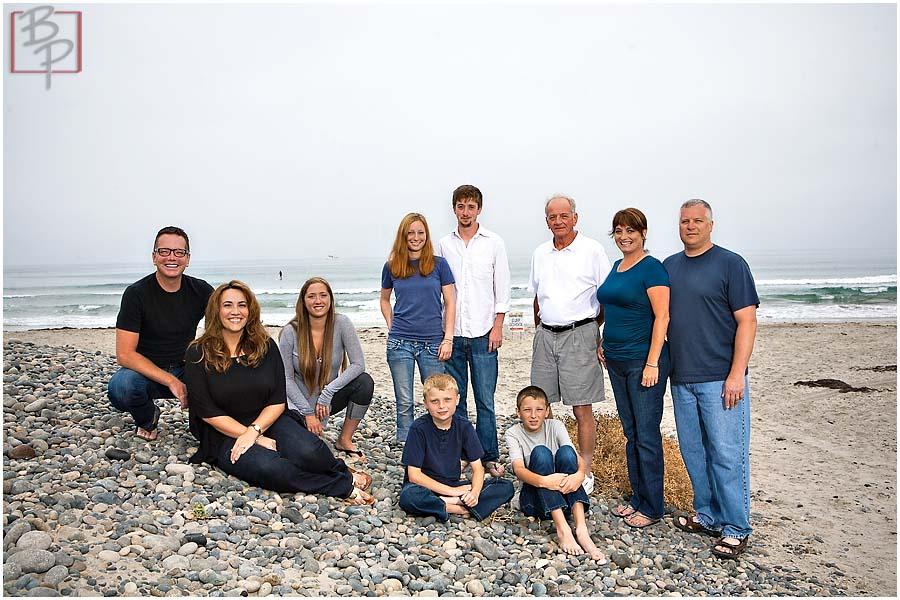 san diego family portrait session