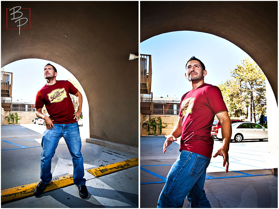 Portraits of Awesome San Diego Photographer at Kensington in Adams Avenue.