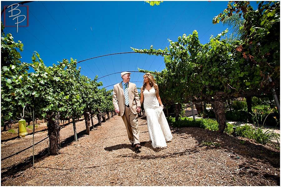 San Diego Vineyard Winery Wedding Photography