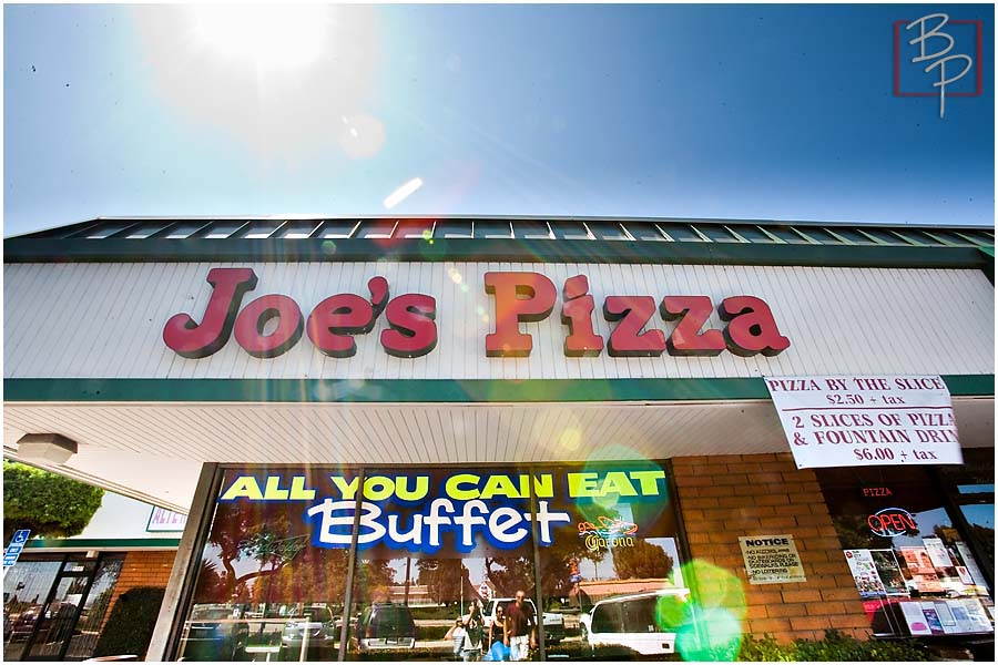 Joe's Pizza Restaurant at Clairemont Mesa in San Diego