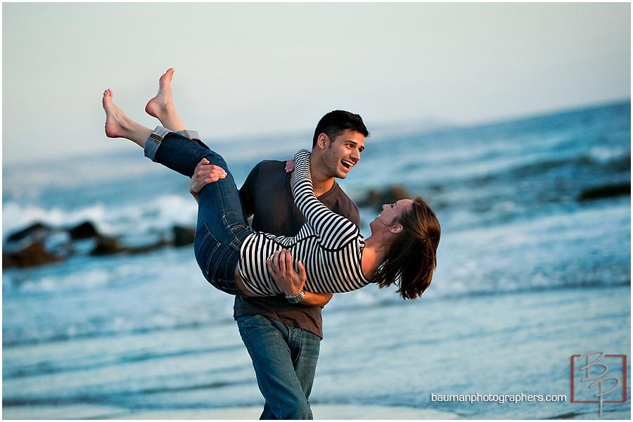Bauman Photography engagement shoot at Coronado Island