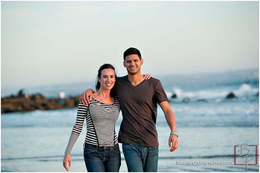 Bauman Photography engagement photos at Coronado Island