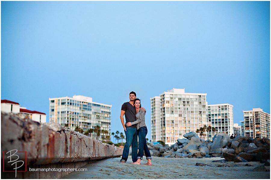 Engagement shots at Coronado