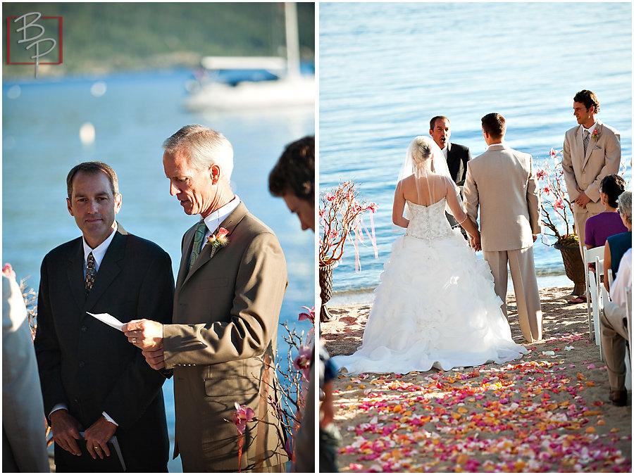Lake Tahoe ceremony photography