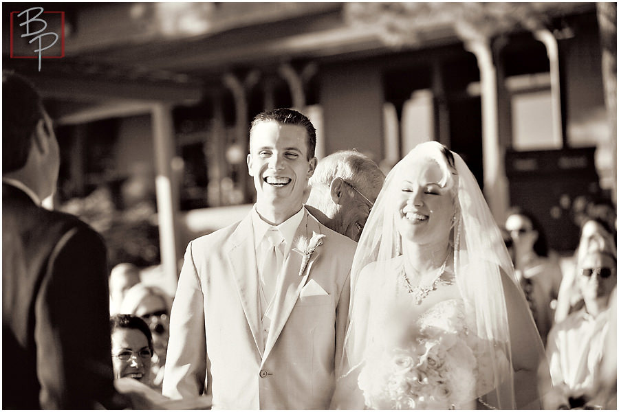 Photographs of ceremony in Lake Tahoe