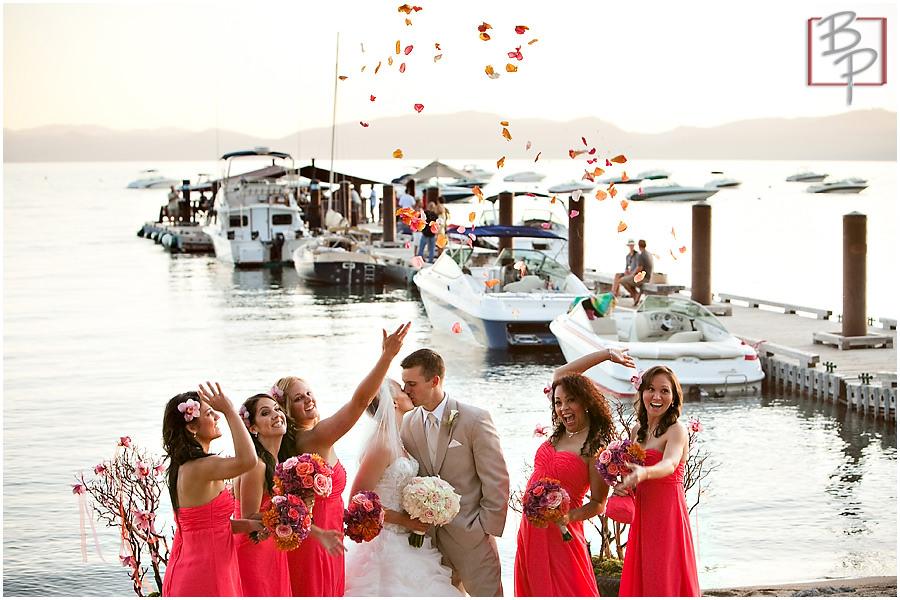 Wedding ceremony photos in Lake Tahoe