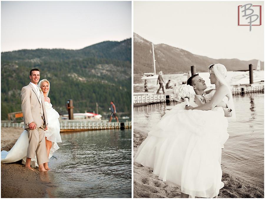 Lake Tahoe destination wedding photography