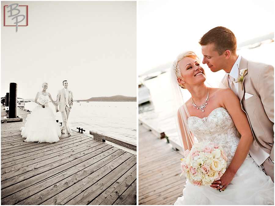 Newlywed couple photography