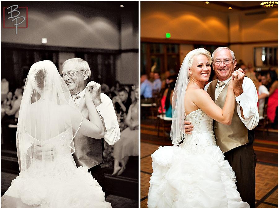 Wedding reception photography at Hyatt Lake Tahoe