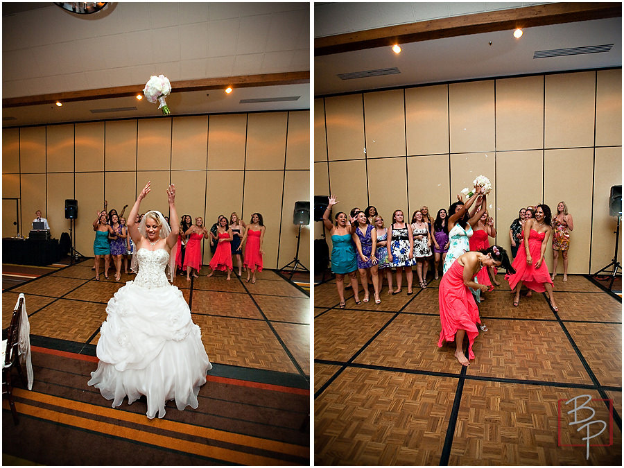 Photos of bouquet toss
