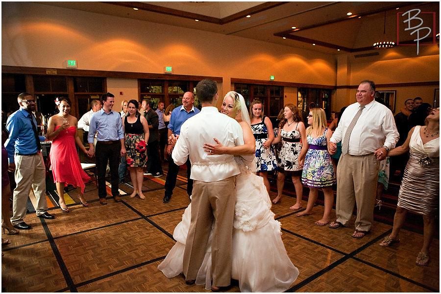 Hyatt Lake Tahoe wedding reception photographs