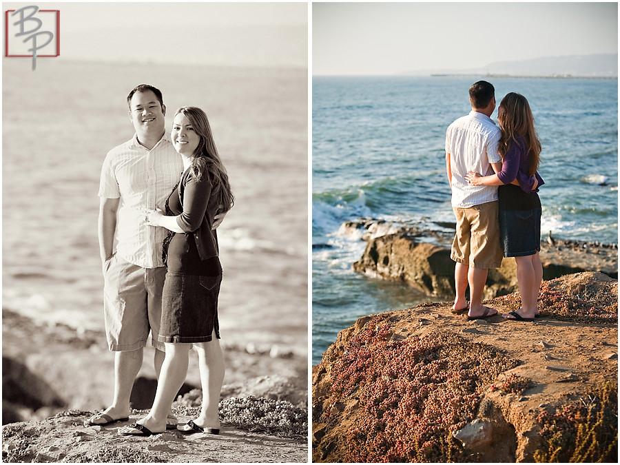 Sunset Cliffs engagement photography