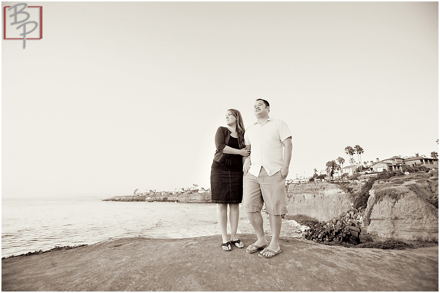 San Diego engagement photography session