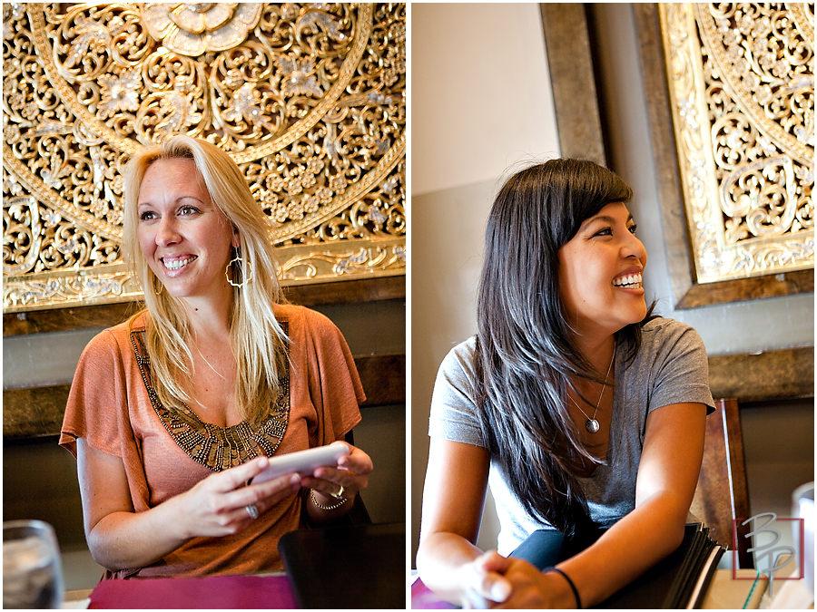 Girls at Siam Nara Restaurant in San Diego