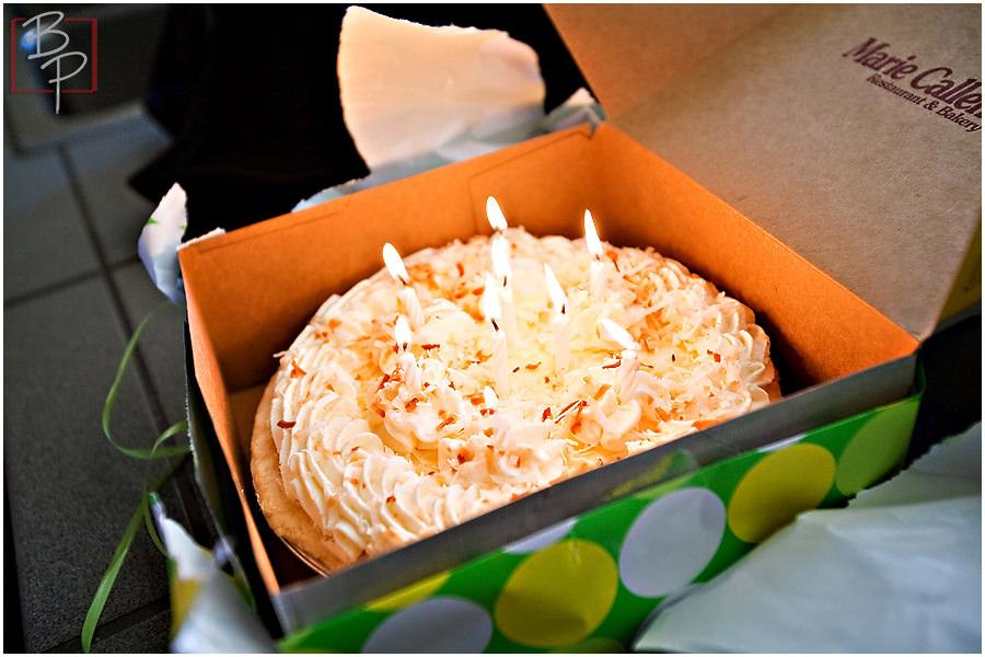 Photograph of Marie Callendar's pie