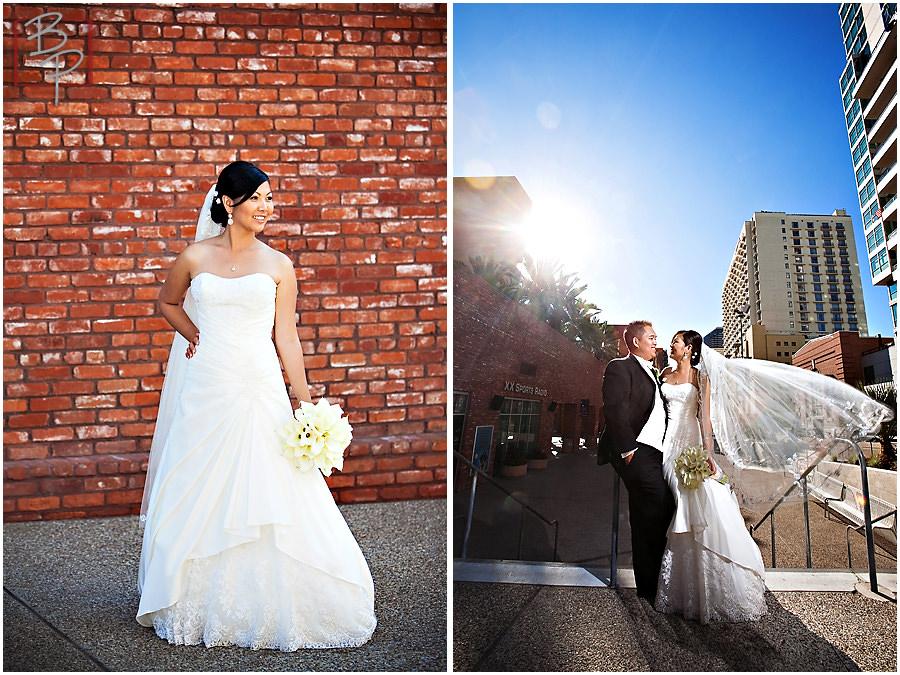 Gaslamp District East Village Wedding Photography