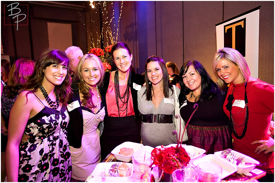 Group shot of ladies at SDSW party