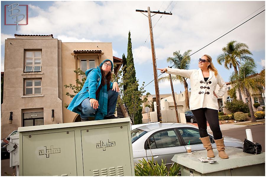 San Diego photographers lunch