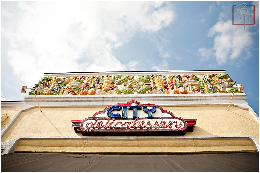 Photographs of food from City Delicatessen