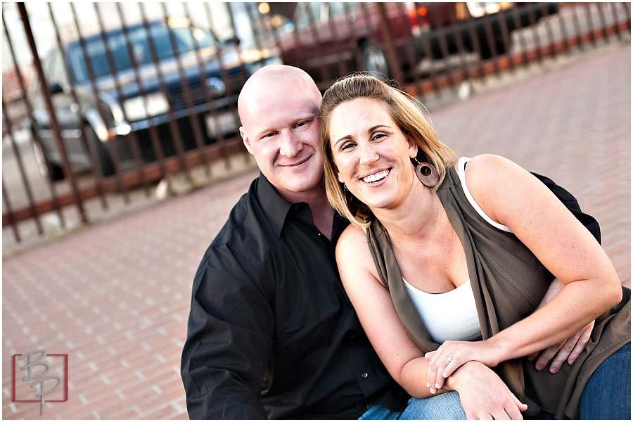 Couple at Gaslamp, Downtown San Diego