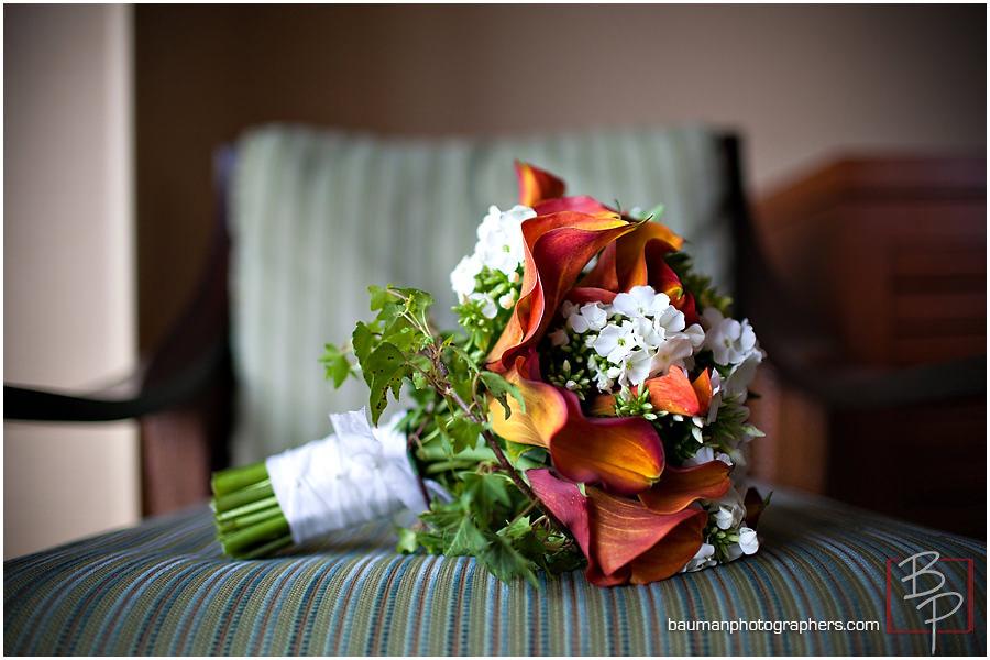 Coronado bride flowers