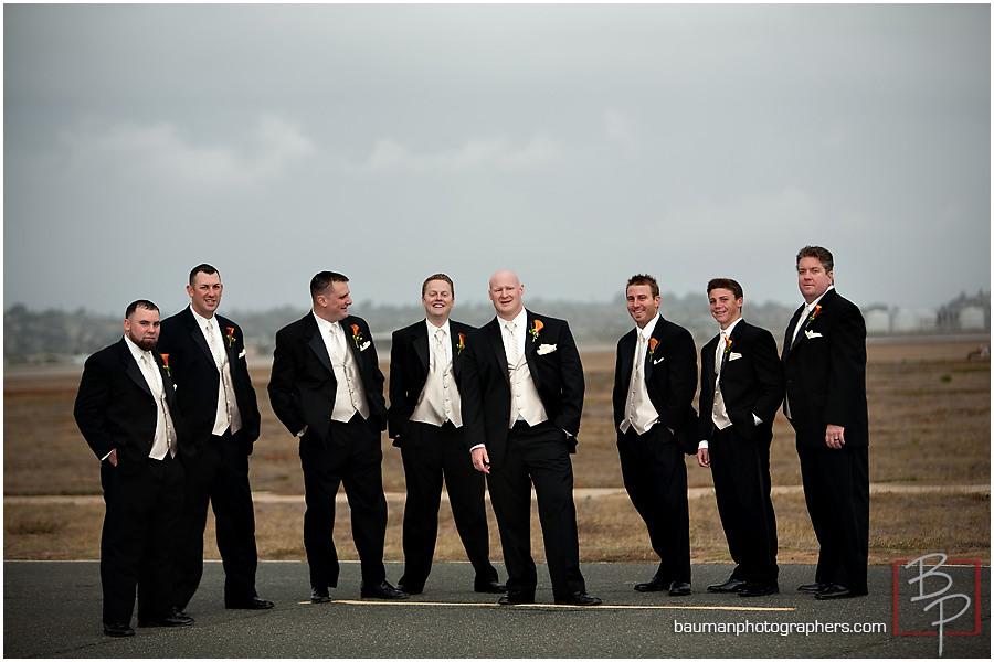 San Diego groomsmen photographs