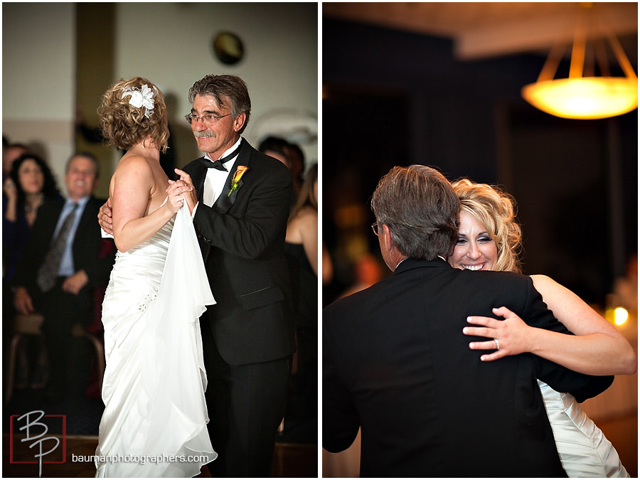father-daughter wedding dance pictures in Island Club