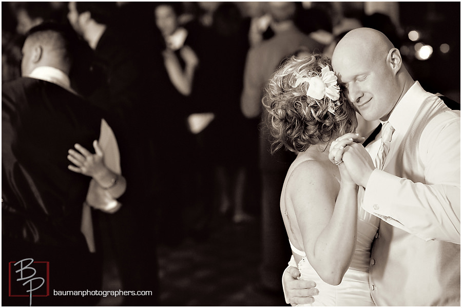 bride and groom photography by Bauman