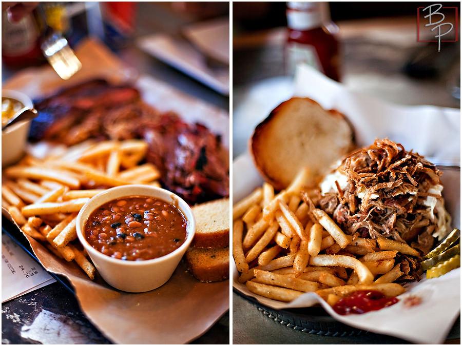 BBQ food photographs