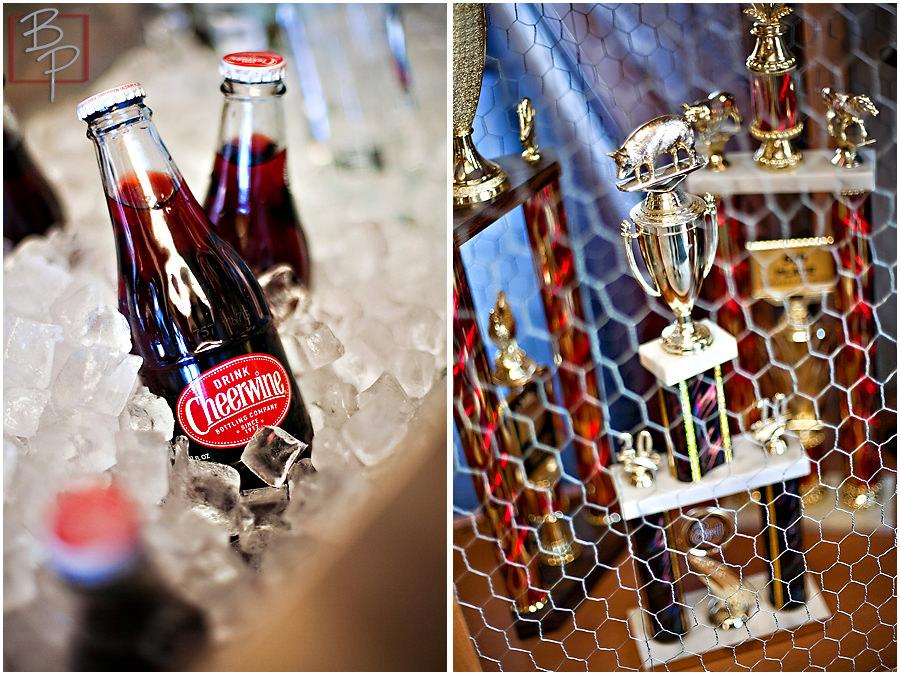 Brazen BBQ lunch photographs