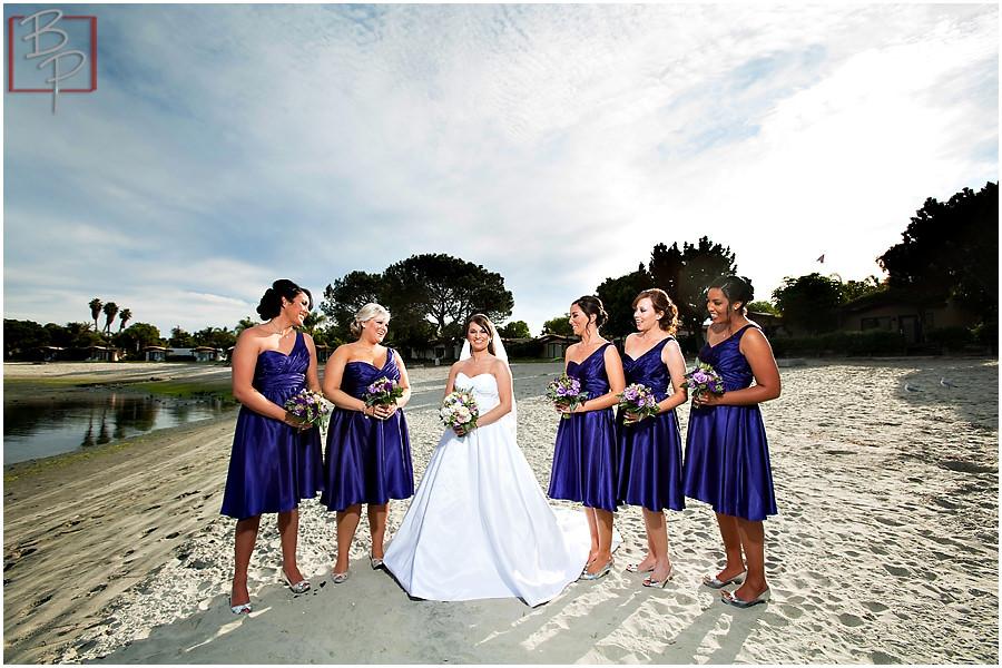 Wedding beach photographs