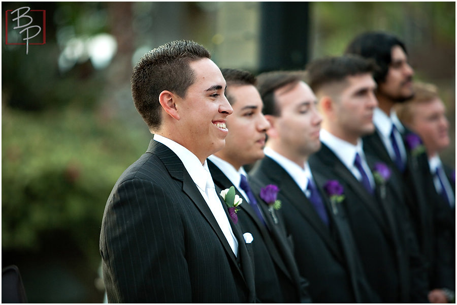 Photography during wedding ceremony