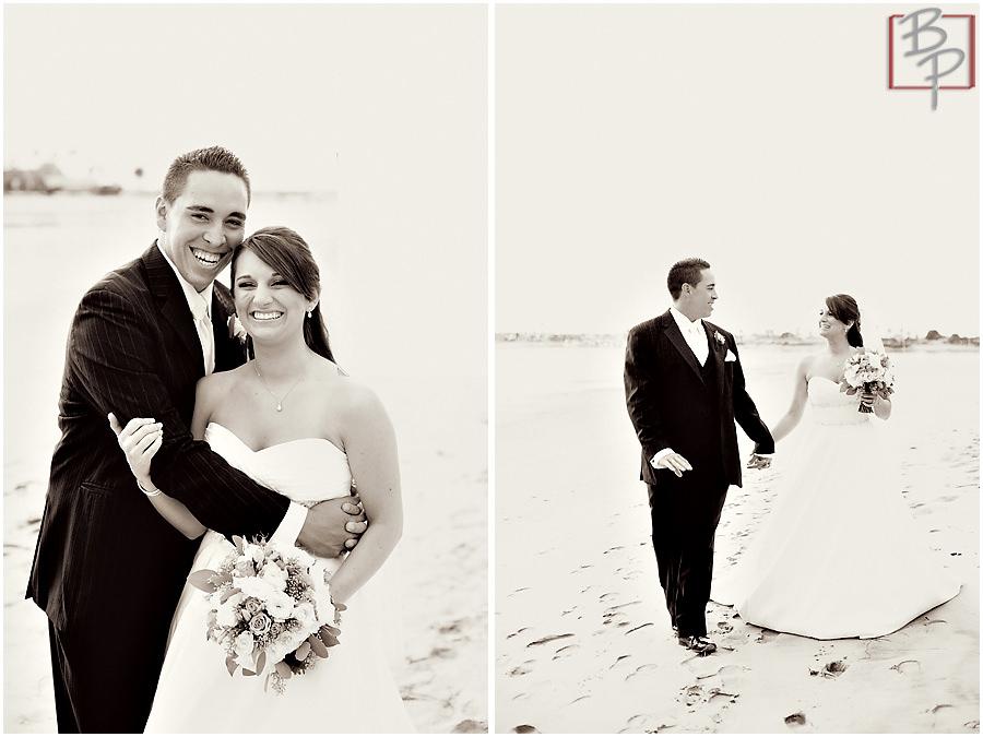 Beach wedding photography in San Diego