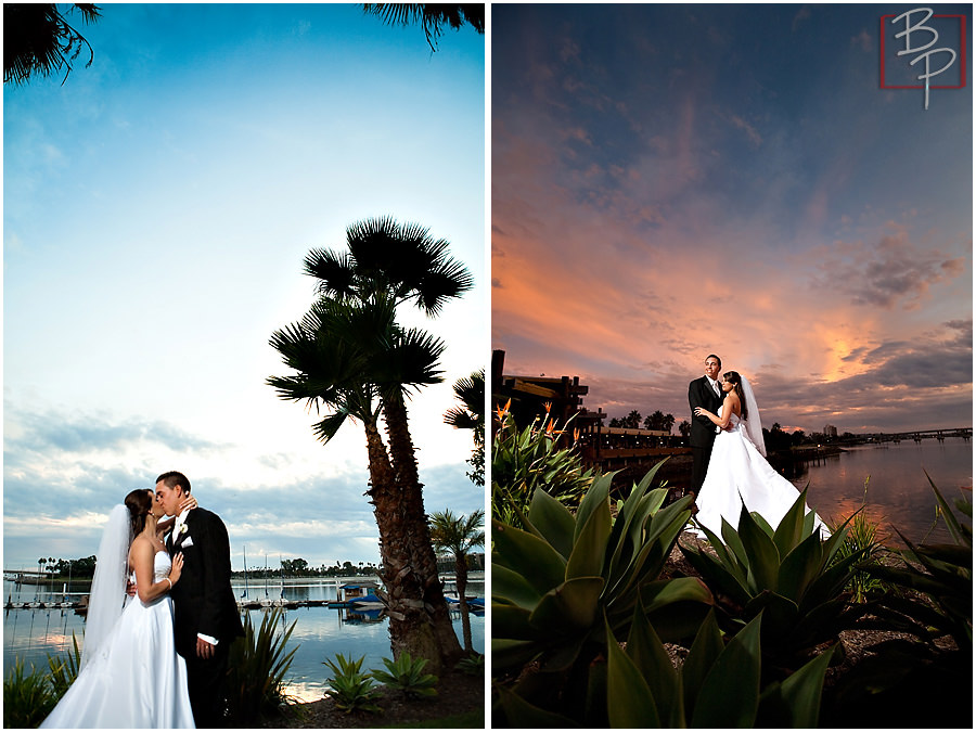 Wedding couple beach photography