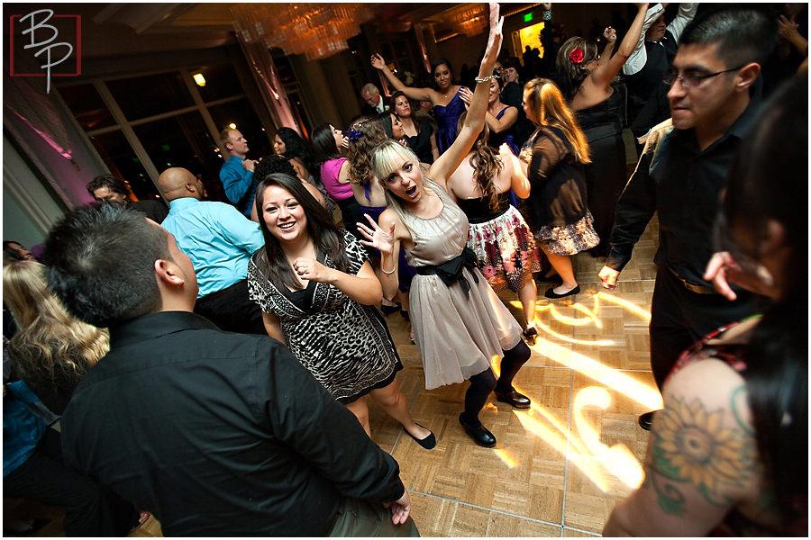 Dancing photographs at Paradise Point Resort