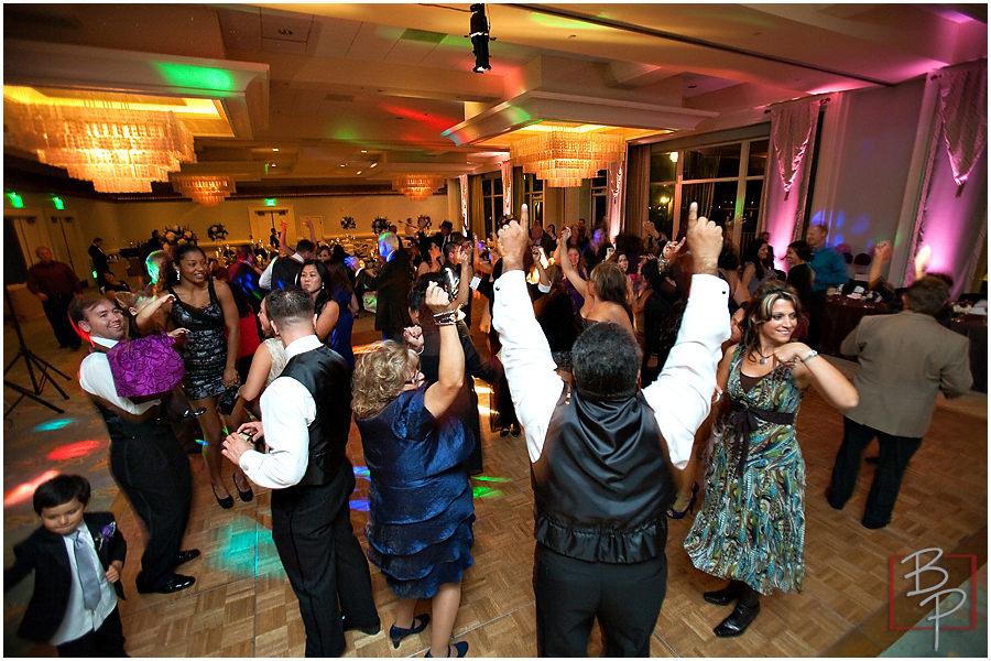 Wedding reception photographs in San Diego