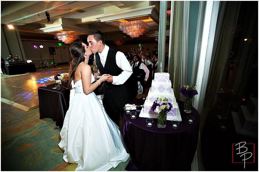 Bauman Photographers wedding reception photography