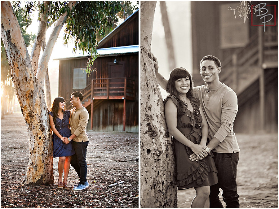 Couple photography at Olivenhain Town Hall