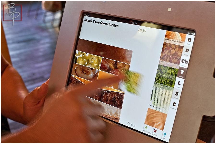 iPad Food Ordering