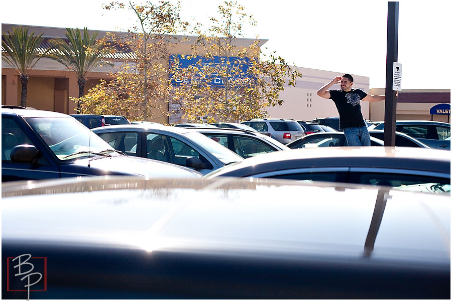 fashion valley mall parking lot