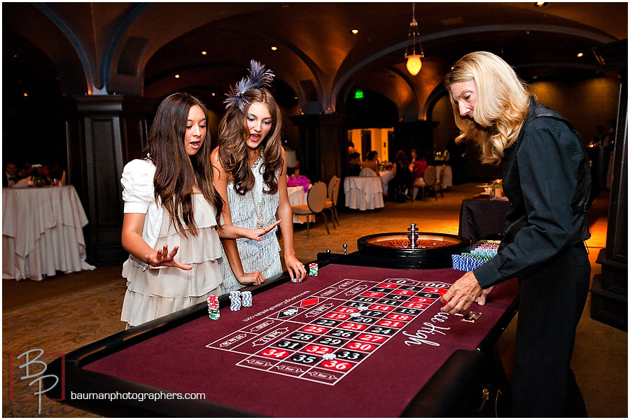 Birthday party casino games
