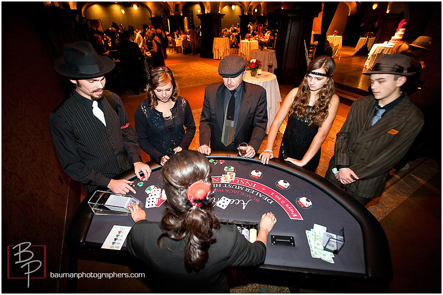 Blackjack photography for birthday party