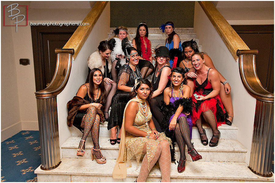 Photography of Roaring 20s birthday party